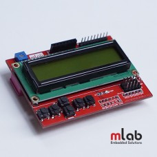 LCD 1206 Keypad Shield (MLAB)