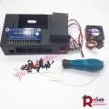 Vỏ hộp Jetson Nano (SP33) có quạt, đế camera và nút bấm