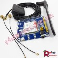 4G / 3G / 2G / GSM / GPRS / GNSS HAT for Raspberry Pi, LTE CAT4 module SIM7600CE