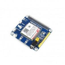 4G / 3G / 2G / GSM / GPRS / GNSS HAT for Raspberry Pi, LTE CAT4 module SIM7600