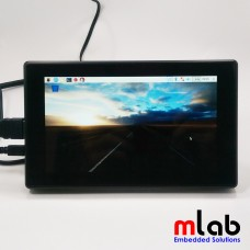 Màn hình LCD 7inch HDMI (H) (with case), 1024x600, IPS, Waveshare