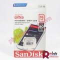 Thẻ nhớ Micro SD 16G class 10 SanDisk Ultra (80MB/s, FULL HD VIDEO)