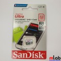 Thẻ nhớ Micro SD 32G class 10 SanDisk Ultra (80MB/s, FULL HD VIDEO)