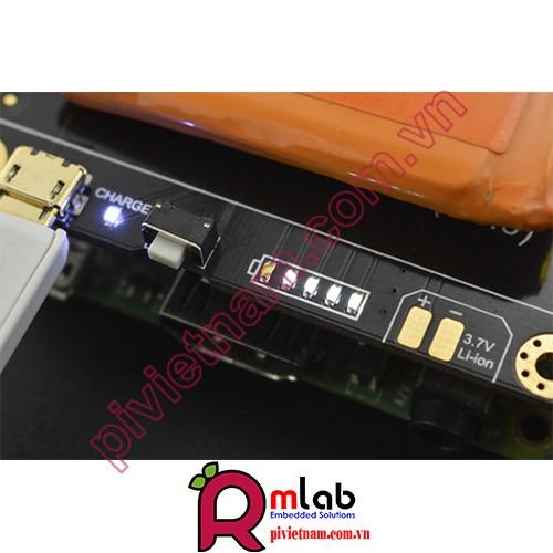 UPS HAT cho Raspberry Pi ( Chưa bao gồm Pin)