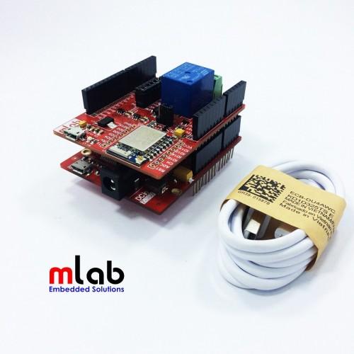 Bộ sản phẩm arduino esp wifi shield dùng với kit