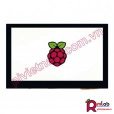 Màn hình 4.3inch dành cho Raspberry Pi, 800x480, DSI, cảm ứng điện dung Waveshare
