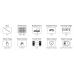 Màn hình 4.3inch dành cho Raspberry Pi (with Protection Case), 800x480, DSI, cảm ứng điện dung Waveshare