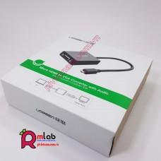 Cable chuyển microHDMI to VGA dành cho Raspberry Pi 4