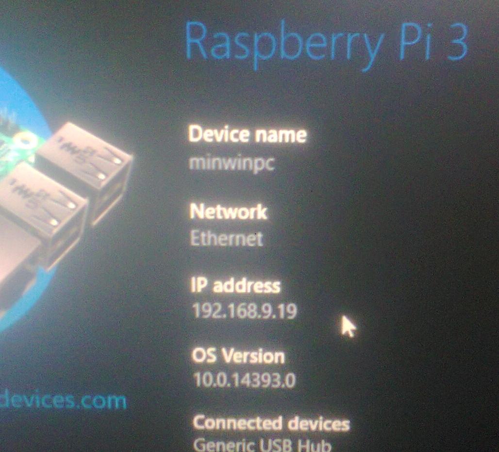 Raspberry Pi : Cài đặt Windows 10 IoT Core trên Raspberry Pi 3