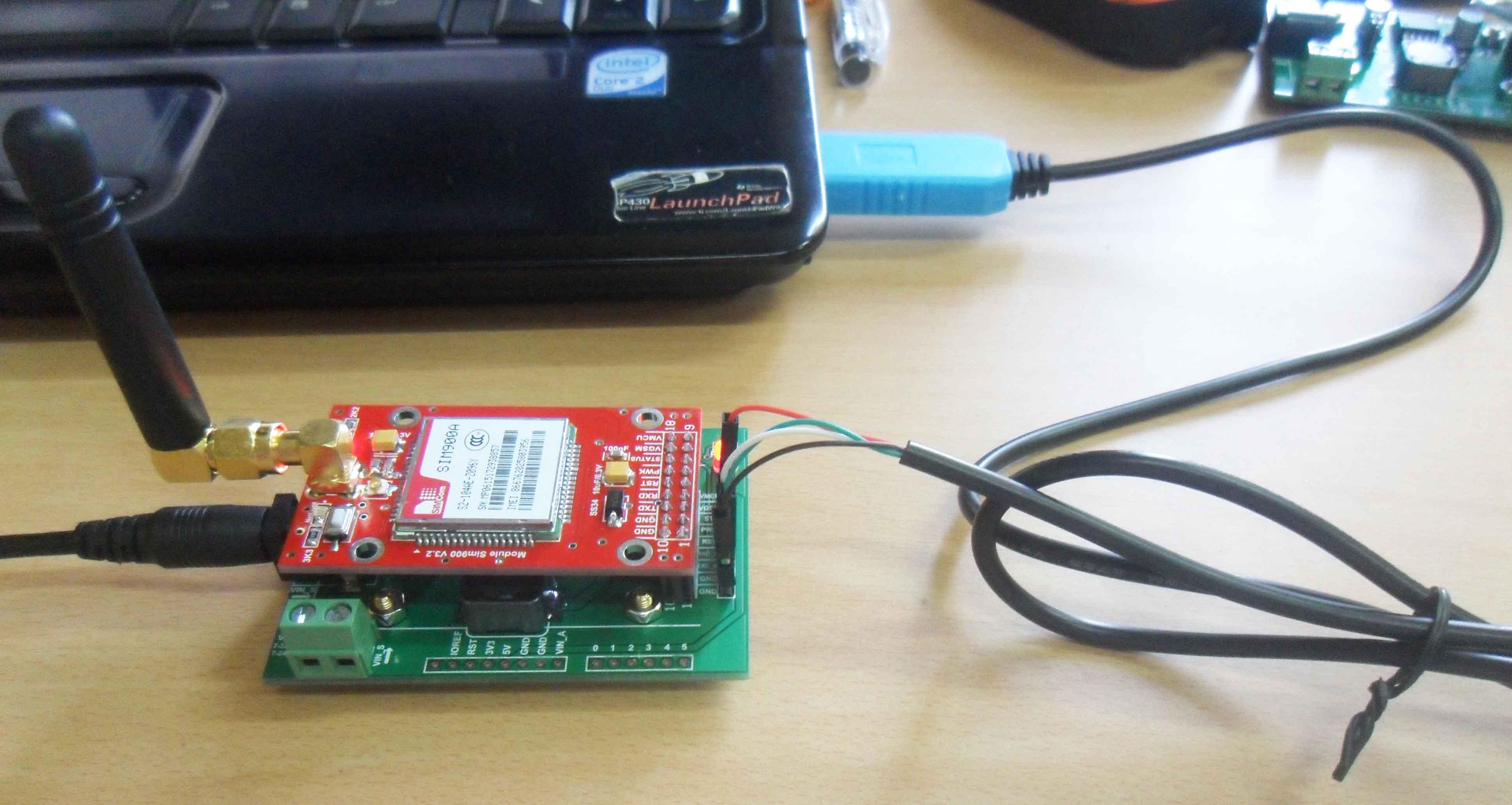 Hướng dẫn sử dụng Module sim900