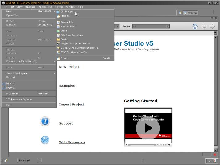 Học MSP430 với Kit MSP430 LaunchPad- Bài 1: Project đầu tiên