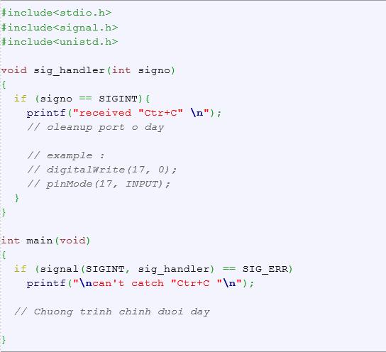 Bài 1 : Lập trình cơ bản Raspberry Pi với GPIO